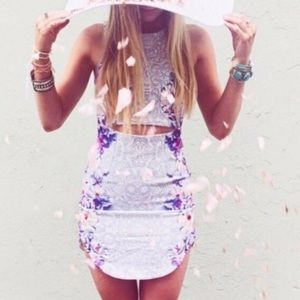 LF rumor boutique dress 💜